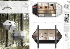 Projekt kapsuły mieszkalnej inspirowany jest...