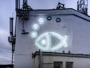 Nowy neon zaświecił w Gdyni
